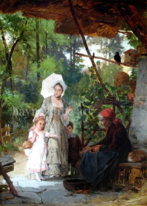 Carl Heinrich Hoff The Elder Artist Biography And Works