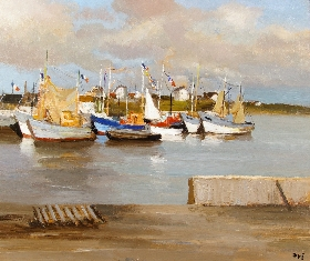 Sailboats in the Harbour