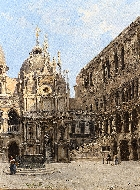 The Courtyard of the Doges Palace