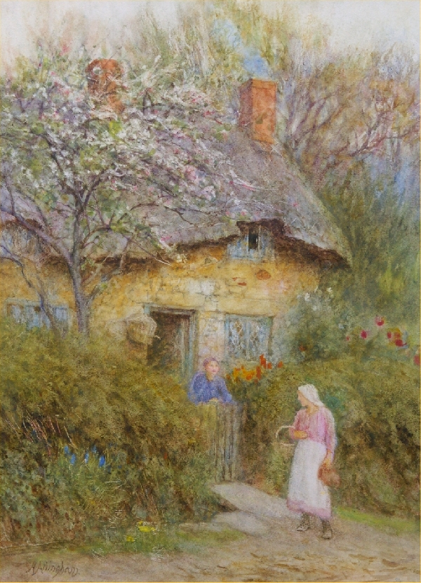 Helen Allingham Rws Artist Biography And Works For Sale