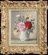 Carnations in a Cupid Jug
