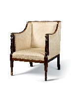 English Library Armchair