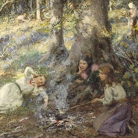 Woodcutters Children
