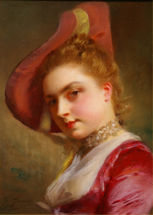 Gustave Jean Jacquet - Artist Biography and Works for Sale