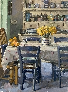 Daffodils on the Kitchen Table