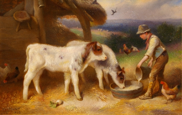 Walter Hunt Artist Biography And Works For Sale